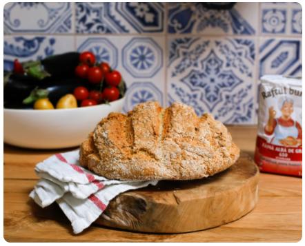 Image Pâine rapidă cu tărâțe și semințe