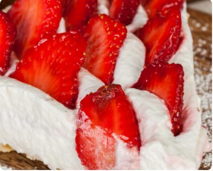 Image Tartă cu căpșuni