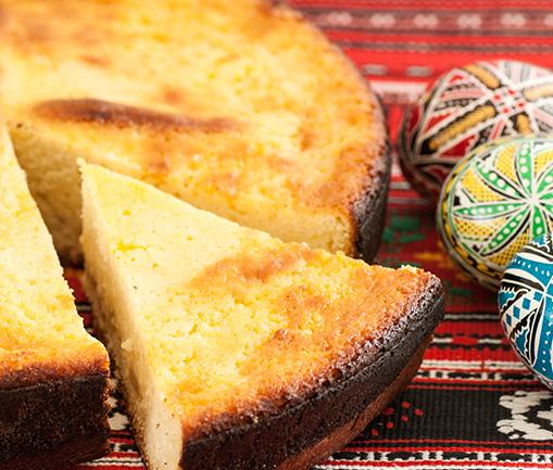Image Pască cu brânză și stafide