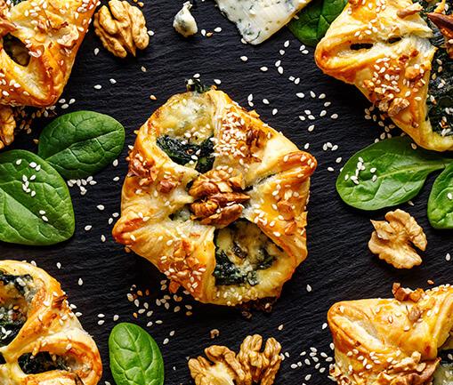 Image Pachețele cu spanac și gorgonzola