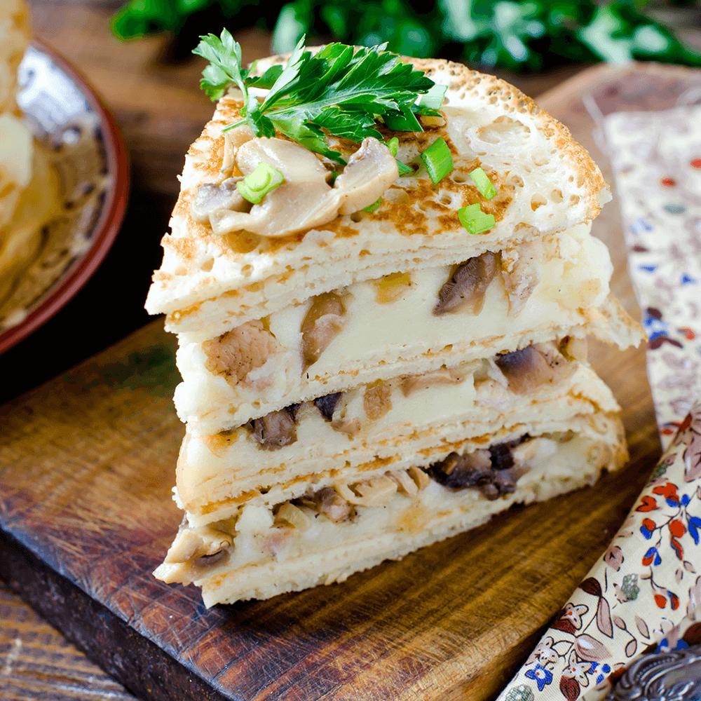 Image Specialitate muntenească cu ciuperci – harta culinară a Munteniei