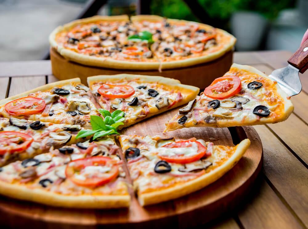 blat de pizza crocant