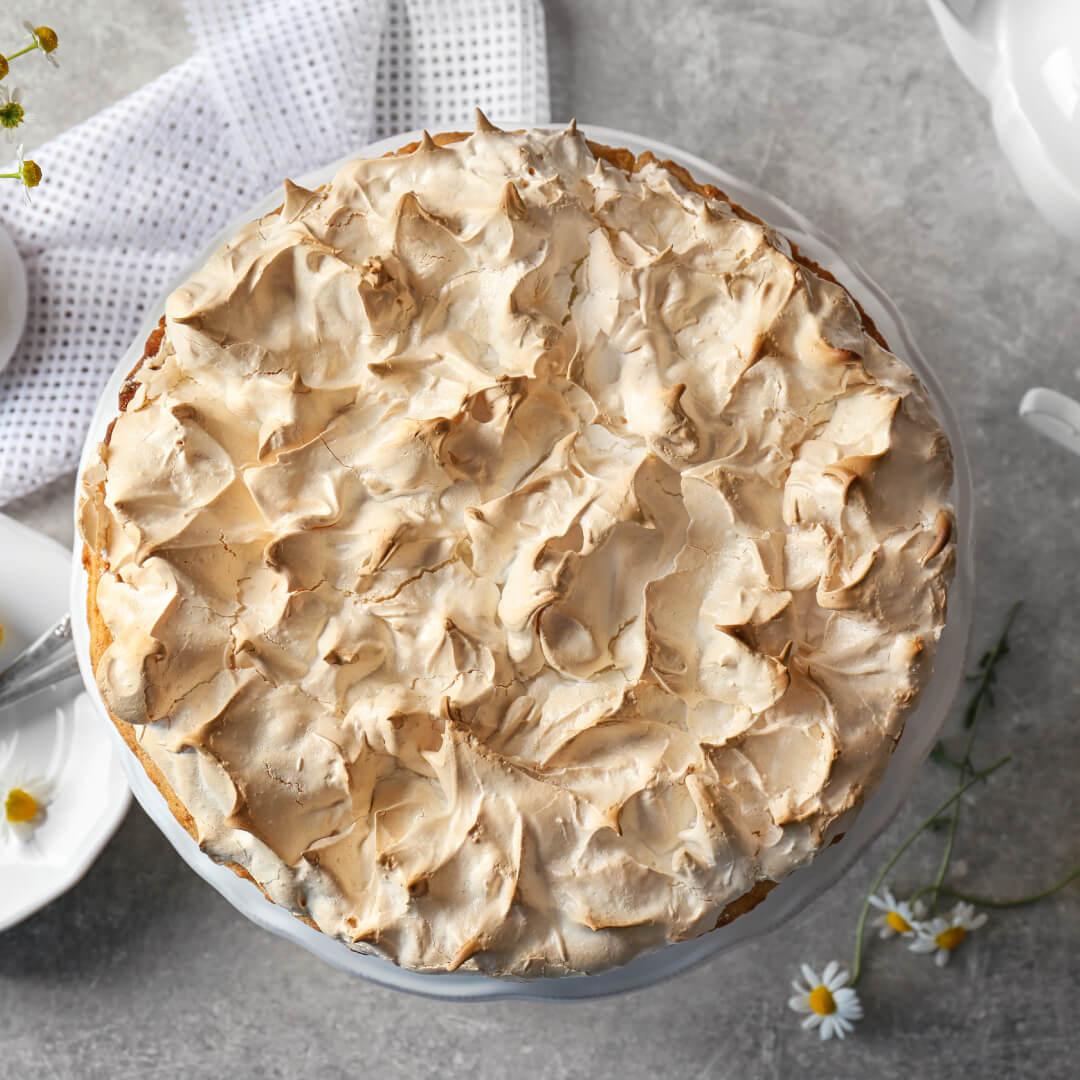 Image Clătite bănățene cu brânză dulce și bezea