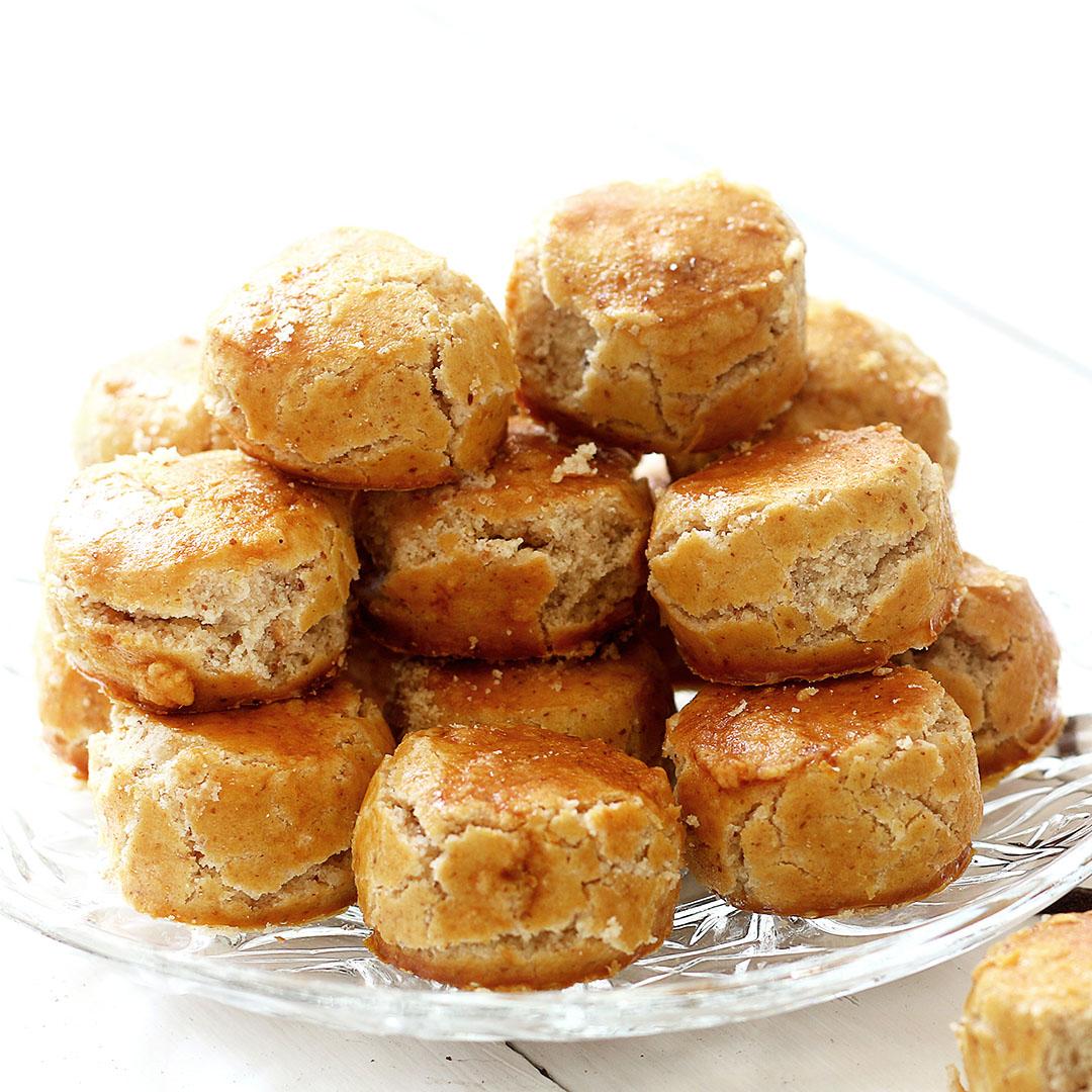 Image Fursecuri chinezești cu arahide, dulcele crocant de pe masa de Revelion