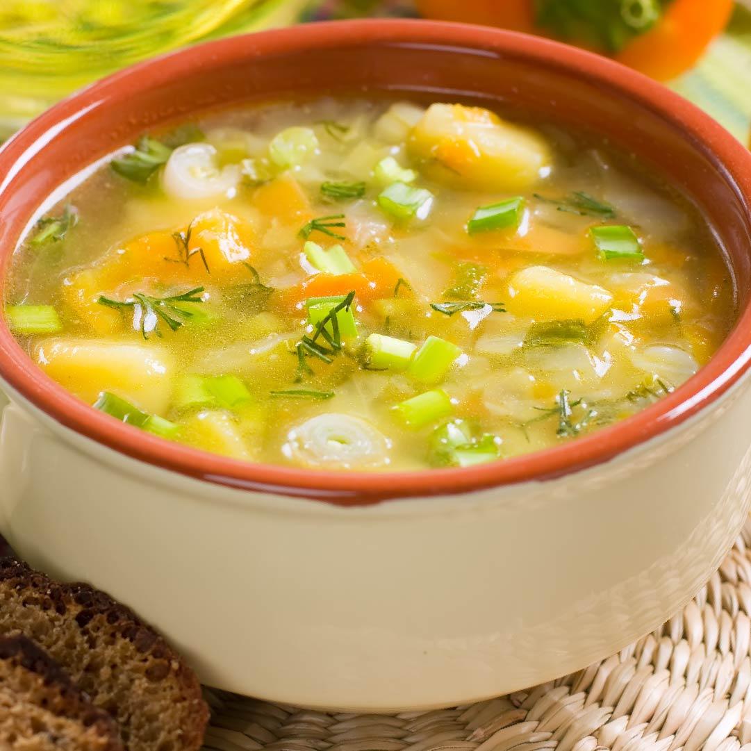 Image Supă de pui cu tăiței de casă