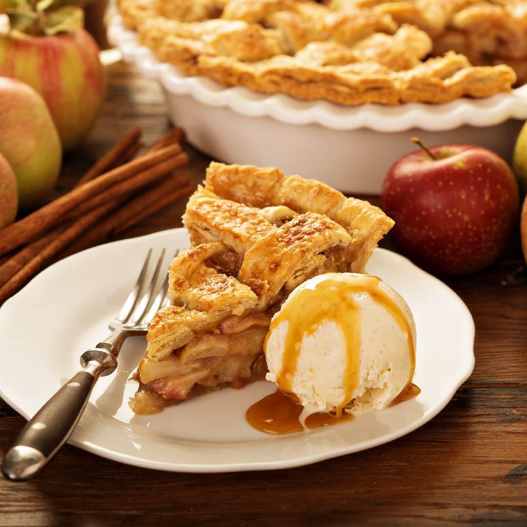 Image Tartă cu mere, cuișoare și scorțișoară