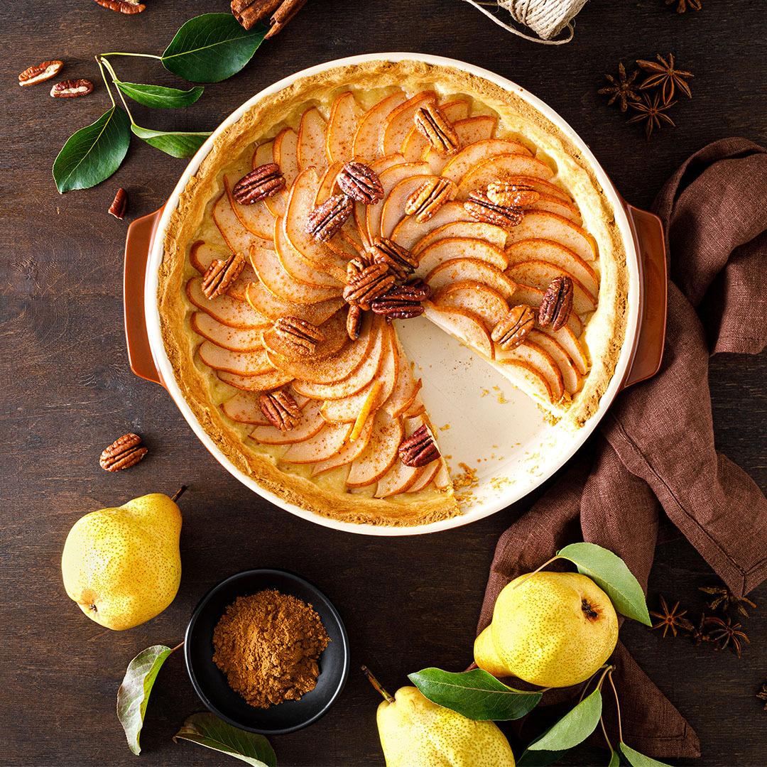 Image Tartă delicioasă de pere