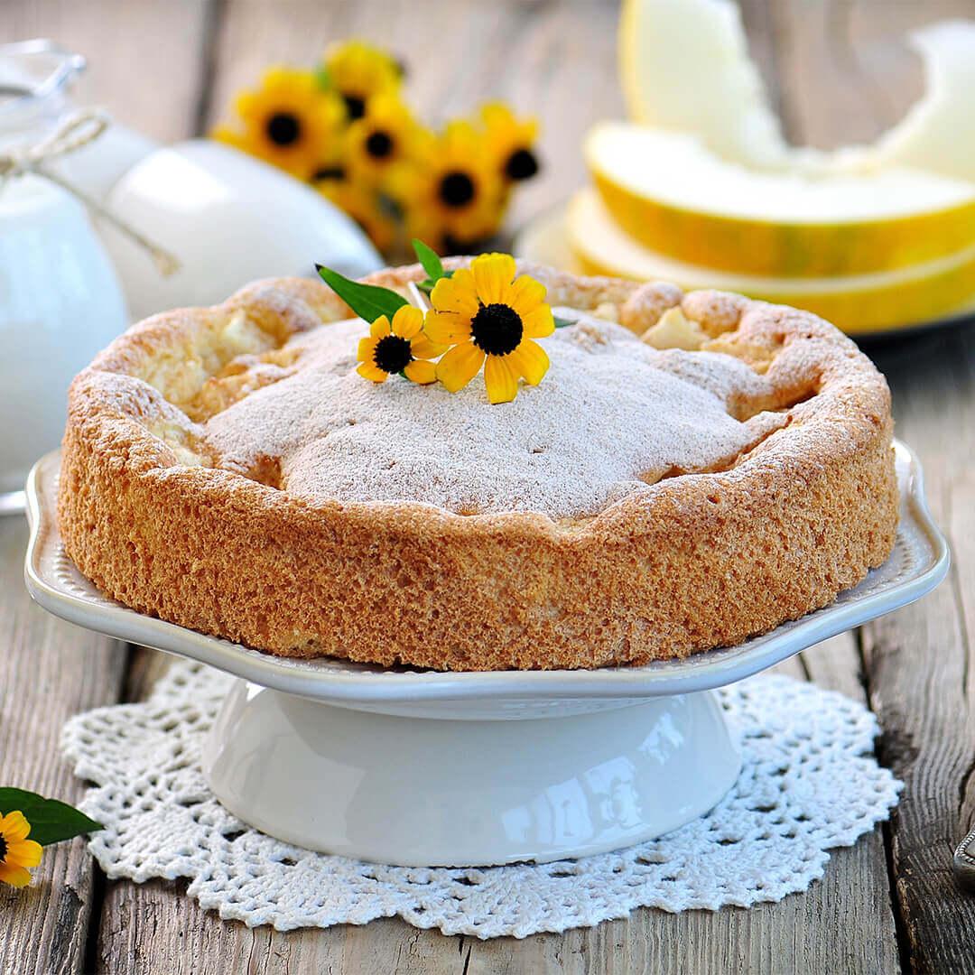Image Tartă cu pepene galben
