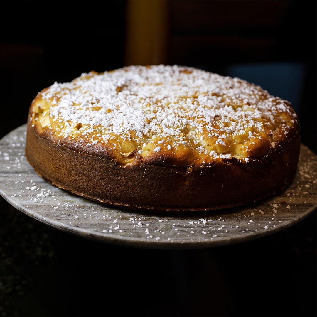 Image Prăjitură cu mere și vanilie